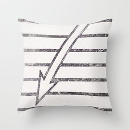 Look here..... Throw Pillow