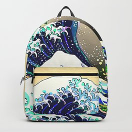 The Great Wave 3 Backpack