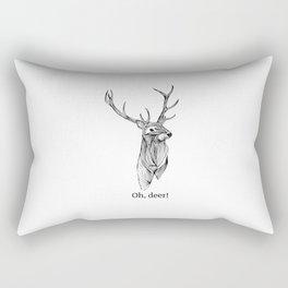 Oh, Rectangular Pillow