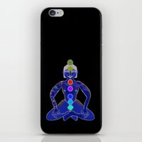 yoga iPhone & iPod Skins featuring YOGA by Gianluca Floris