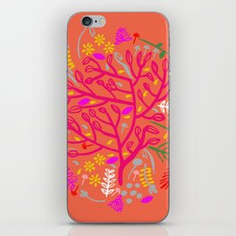 Folk Tree iPhone Skin