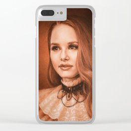 Cheryl from Riverdale Clear iPhone Case