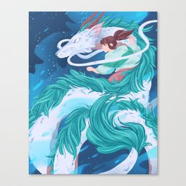 Spirited Canvas Print