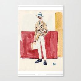 Japanese Sprezzatura Canvas Print
