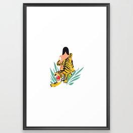 Waking the tiger Framed Art Print