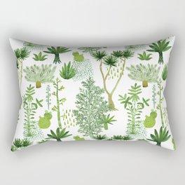 Green jungle pattern Rectangular Pillow