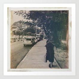 Burmese Memories #9 Art Print