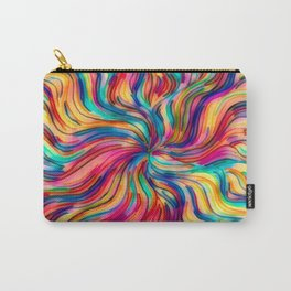 Seamless Pattern With Colors Of A Sweet Dream Carry-All Pouch
