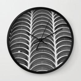 Layers, Marina Towers Wall Clock