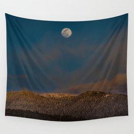 Colorado Moonrise Wall Tapestry