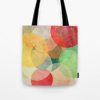 georgiana paraschiv Tote Bags featuring The Round Ones by Anai Greog