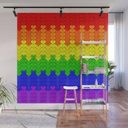 Love All, Judge None Wall Mural