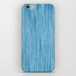Crinkle in Blue iPhone Skin