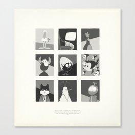 Super Mercredi Bros Heroes (4/8) Canvas Print