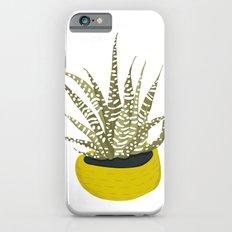 Zebra Cactus iPhone 6s Slim Case