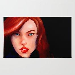 Natasha Romanoff-The Black Widow Rug