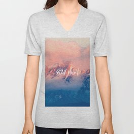 Stay Rocky Mountain High Unisex V-Neck