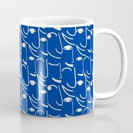 Smiling Side Faces Coffee Mug