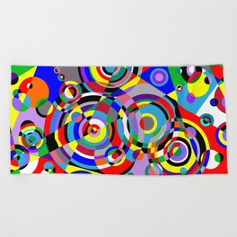 Raindrops by Bruce Gray Beach Towel