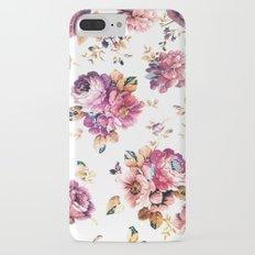 VINTAGE FLOWERS XXXIV - for iphone Slim Case iPhone 7 Plus