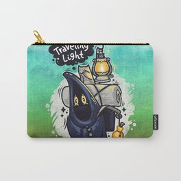 Traveling Light Cartoon Character Carry-All Pouch