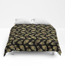 Turkish tulip - Ottoman tile pattern 3 Comforters