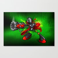 spawn Canvas Prints featuring Spawn  by alexviveros.net