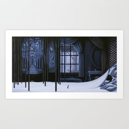Night Visit Art Print