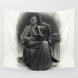 The Omnivorous Reader Wall Tapestry