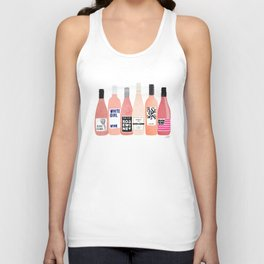 Rose Bottles Unisex Tank Top