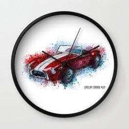 Shelby Cobra 427 Wall Clock