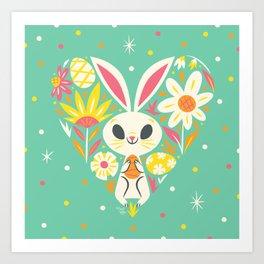 I Heart Easter Art Print