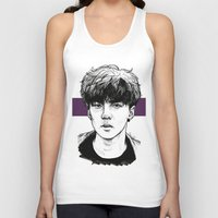 exo Tank Tops featuring Sehun EXO Exodus by fabisart