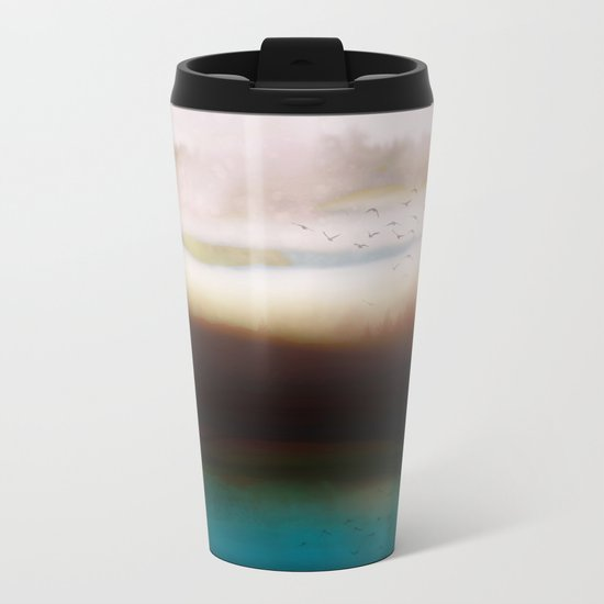Winters Dusk Metal Travel Mug