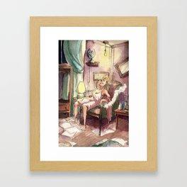 Ms. Hannigan Framed Art Print