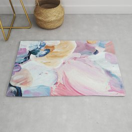 Returning II Abstract Painting  Rug