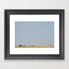 Shepherds Framed Art Print