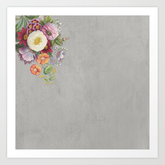 Hanna Floral Art Print