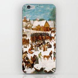 Massacre of the Innocents by Pieter Bruegel the Elder iPhone Skin