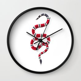 Guci Snake Wall Clock