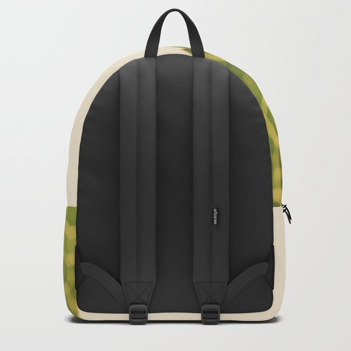 green leaf abstract Backpack