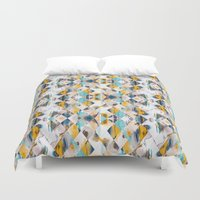 diamonds Duvet Covers featuring Diamonds by James McKenzie