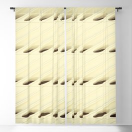 The Broad In the Afternoon Vintage Retro Pattern Photography II Blackout Curtain