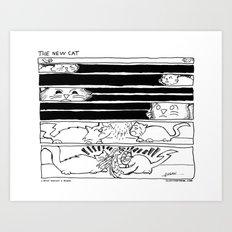 The New Cat Art Print