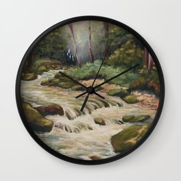 In the shade of the undergrowth Wall Clock