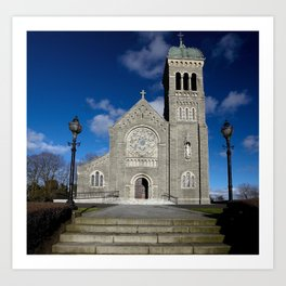 Sacred Heart Church, Cloghogue, Ireland Art Print
