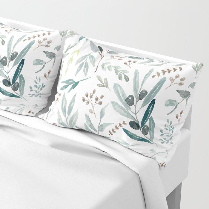 Eucalyptus pattern Kissenbezug
