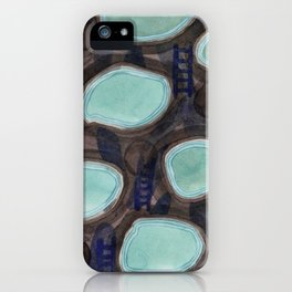 Pools and Ladders iPhone Case