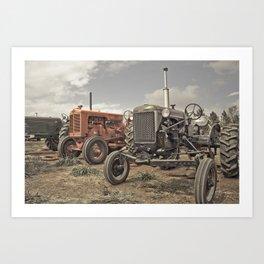 Tractor Show Art Print
