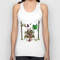 sheep Tank Tops featuring Sheep by Anna Shell